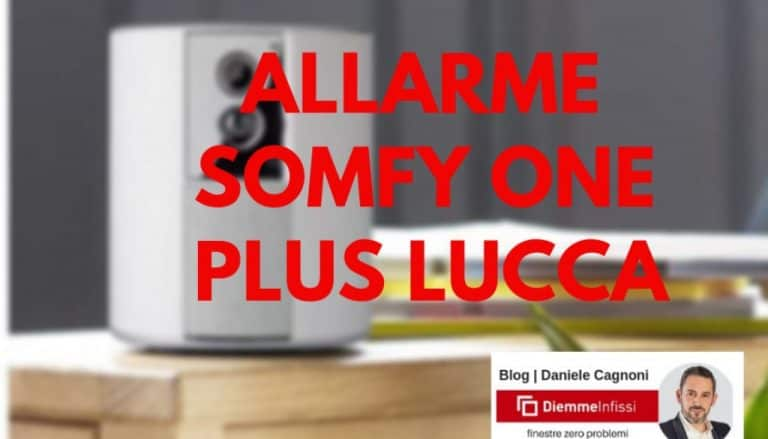 Allarme Somfy One Plus Lucca